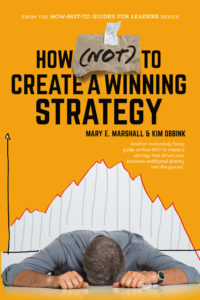 How NOT to Create a Winning Strategy book cover